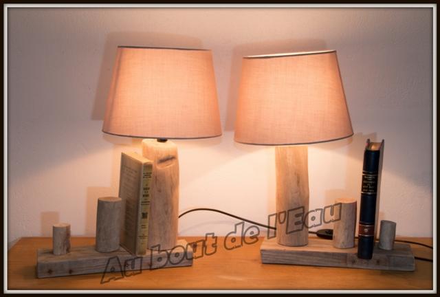 Chevets porte-livres (40 x 30 cm)