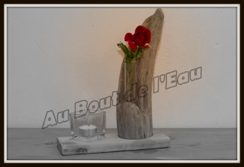Soliflore Bougeoir